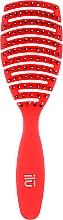 Düfte, Parfümerie und Kosmetik Haarbürste rot - Ilu Brush Easy Detangling Rose