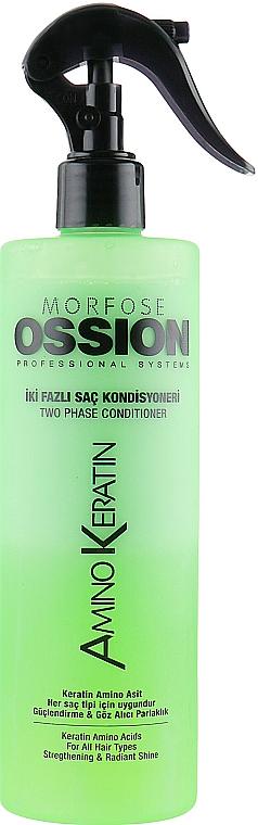 Stärkender Zweiphasen-Conditioner mit Keratin - Morfose Ossion Amino Keratin Two Phase Hair Conditioner — Bild N1
