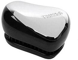 Düfte, Parfümerie und Kosmetik Kompakte Haarbürste - Tangle Teezer Compact Styler Silver