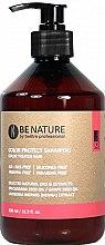 Düfte, Parfümerie und Kosmetik Farbschutzshampoo für coloriertes Haar mit Macadamia-Samenöl und Henna-Extrakt - Beetre Be Nature Color Protect Shampoo