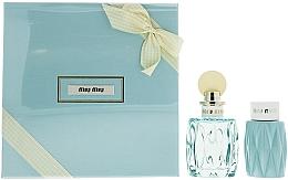 Düfte, Parfümerie und Kosmetik Miu Miu L'Eau Bleue - Duftset (Eau de Parfum 100ml + Körperlotion 100ml)