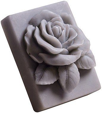 Handgemachte Naturseife Rose mit Ananasduft - LaQ Happy Soaps Natural Soap — Bild N1