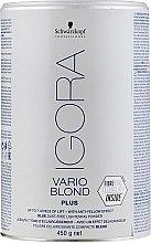 Düfte, Parfümerie und Kosmetik Blaues staubfreies Blondierpulver - Schwarzkopf Professional Igora Vario Blond Plus