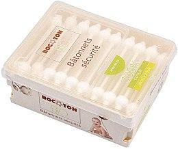 Düfte, Parfümerie und Kosmetik Bio Wattestäbchen für Kinder mit Grenzschutz 60 St. - Bocoton
