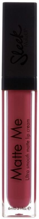 Mattierender Lippenstift - Sleek MakeUP Matte Me Lip Cream — Bild N1