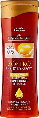 Haarspülung - Joanna Egg Yolk & Castar Oil Conditioner — Bild N1