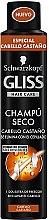 Düfte, Parfümerie und Kosmetik Trockenes Shampoo für braunes Haar - Schwarzkopf Gliss Hair Care Dry Shampoo Braun Hair