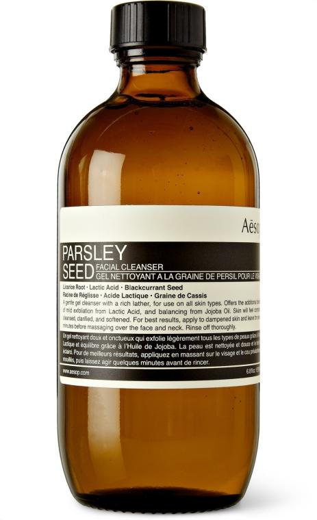 Gesichtsreiniger mit Süßholzwurzel, Milchsäure und Johannisbeersamen - Aesop Parsley Seed Facial Cleanser — Bild N1