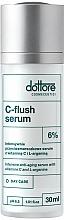Düfte, Parfümerie und Kosmetik Intensives Anti-Falten Gesichsserum mit 6% VItamin C und L-Arginin - Dottore C-Flush Serum