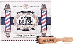 Düfte, Parfümerie und Kosmetik Bartbürste - Macho Beard Company Macho Brush