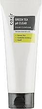 Düfte, Parfümerie und Kosmetik Exfolierender Gesichtsreinigungsschaum mit grünem Tee, indischem Wassernabel und Schneckenschleim - Coxir Green Tea pH Clear Foam Cleanser