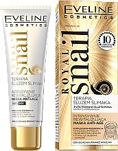 Düfte, Parfümerie und Kosmetik Intensiv revitalisierende Gesichtsmaske mit Schneckenextrakt - Eveline Cosmetics Royal Snail