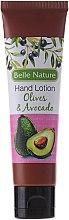 Düfte, Parfümerie und Kosmetik Handlotion mit Oliven und Avocado - Belle Nature Hand Lotion Olives&Avocado