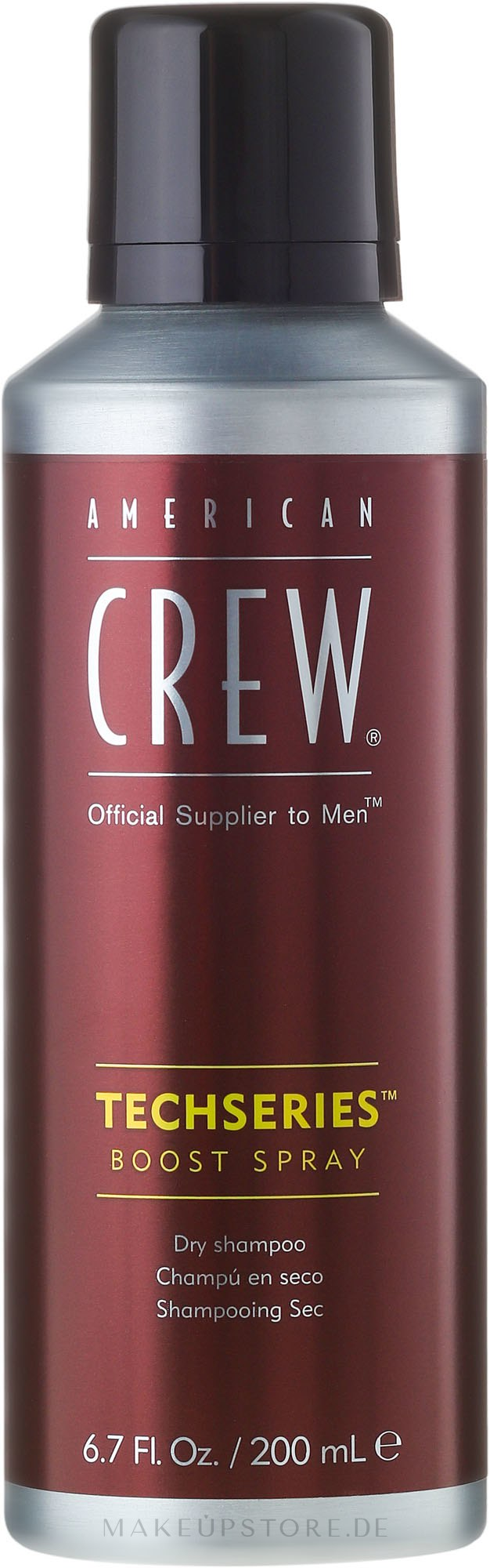 Auffrischendes Stylingspray mit mittlerem Halt für längeres Haar - American Crew Official Supplier to Men Techseries Boost Spray — Bild 200 ml
