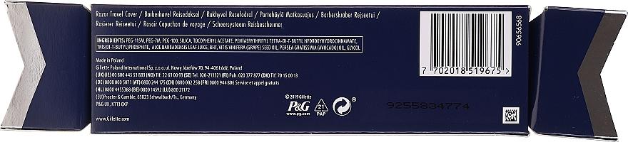 Reise-Rasierset - Gillette Fusion5 Razor Cracker (Rasierer 1 St. + Rasiermesser-Abdeckung) — Bild N2
