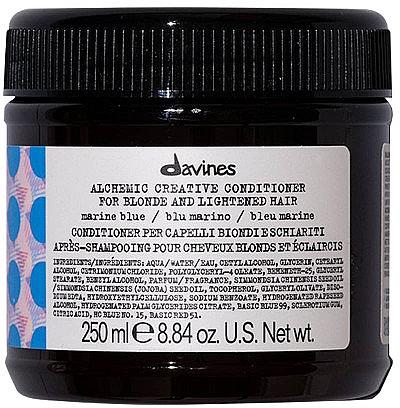 Conditioner für natürliches und gefärbtes Haar (Meereswelle) - Davines Alchemic Conditioner Marine Blue — Bild N1