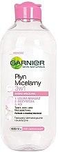 Düfte, Parfümerie und Kosmetik 3in1 Mizellenwasser für Gesicht, Augen und Lippen - Garnier Skin Naturals