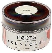 Düfte, Parfümerie und Kosmetik UV Aufbaugel Clear - Neess Acrylic Gel