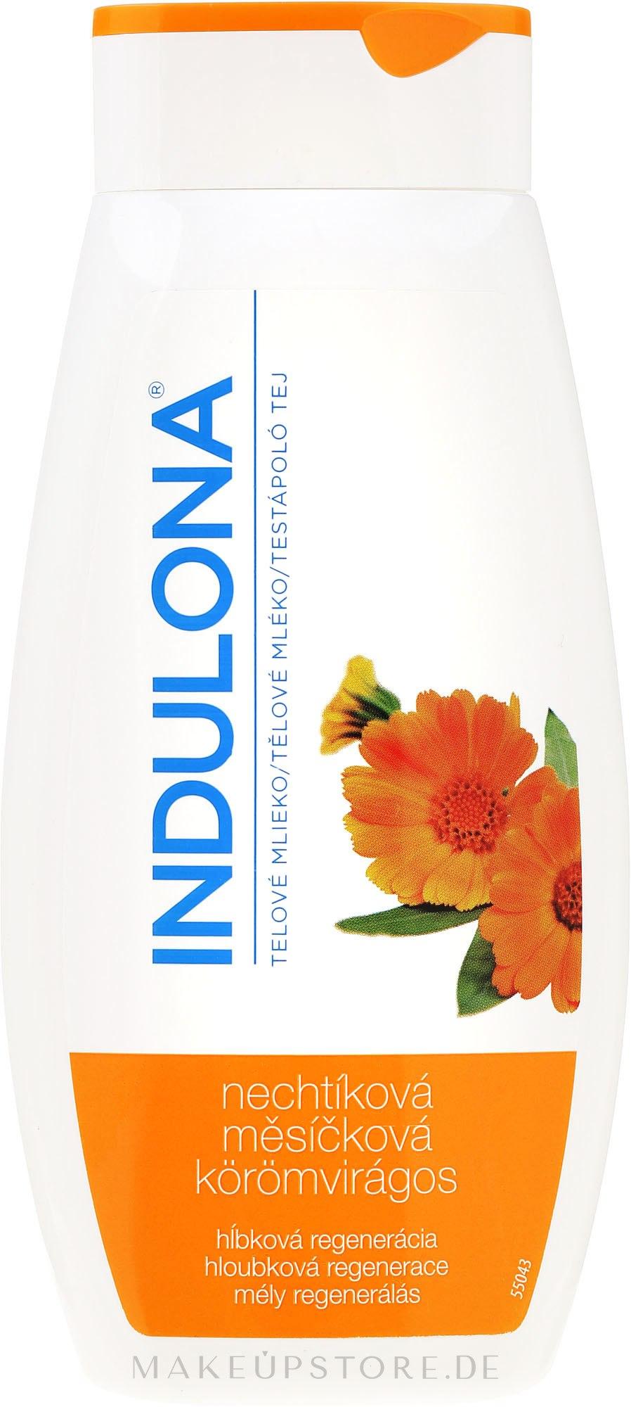 Regenerierende Körpermilch mit Ringelblume - Indulona Calendula Body Milk — Bild 400 ml