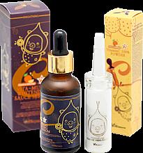 Düfte, Parfümerie und Kosmetik Gesichtspflegeset (Serum 30ml + Essenz 12g) - Elizavecca Vitamin C 100% Powder + Vita-Multi Whitening Sauce Serum