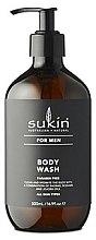 Düfte, Parfümerie und Kosmetik Duschgel mit Aloe Vera, Baobab-Extrakt, Sesam- und Jojobaöl für Männer - Sukin Sukin For Men Body Wash