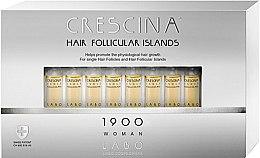 Düfte, Parfümerie und Kosmetik Haarwuchs stimulierende Lotion in Ampullen für Frauen 1900 - Labo Crescina Hair Follicular Island 1900 Woman