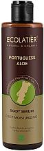 Düfte, Parfümerie und Kosmetik Tief feuchtigkeitsspendendes Körperserum mit portugiesischer Aloe und Hyaluronsäure - Ecolatier