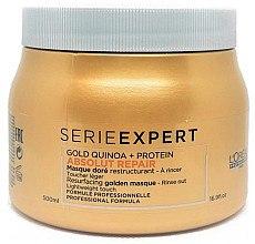 Düfte, Parfümerie und Kosmetik Regenerierende Maske für geschädigtes Haar - L'Oreal Professionnel Absolut Repair Gold Quinoa +Protein Mask