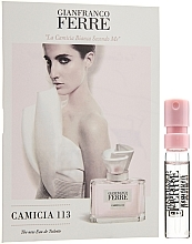 Düfte, Parfümerie und Kosmetik Gianfranco Ferre Camicia 113 - Eau de Toilette (Probe)