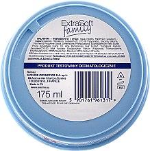 Intensiv feuchtigkeitsspendende und beruhigende Körper- und Gesichtscreme - Eveline Cosmetics Extra Soft Family Cream — Bild N3