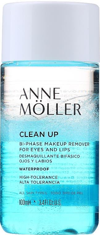 2-Phasiger Make-up Entferner für Augen und Lippen - Anne Moller Waterproof Makeup Remover Eyes and Lips — Bild N1