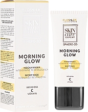Düfte, Parfümerie und Kosmetik Regenerierende Gesichtsmaske mit Vitamin C - FlosLek Skin Care Expert Sphere-3D Morning Glow