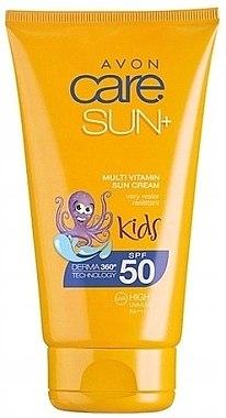 Wasserfeste Sonnenschutzcreme für Kinder SPF 50 - Avon Sun+ Kids Multivitamin Sun Cream SPF50 — Bild N2