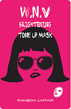 Düfte, Parfümerie und Kosmetik Aufhellende Tuchmaske - Rainbow L'Affair K-Mask Sheet W.N.V Brightening Tone Up Mask