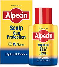 Düfte, Parfümerie und Kosmetik Sonnenschutzbehandlung für die Kopfhaut mit Kaffein SPF 15 - Alpecin Scalp Sun Protection SPF15