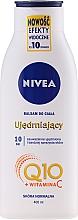 Düfte, Parfümerie und Kosmetik Straffende Körperlotion mit Q10 und Vitamin C - Nivea Q10 PLUS Body Lotion