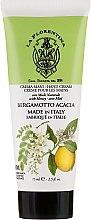 Düfte, Parfümerie und Kosmetik Handcreme mit Bergamotte und Akazie - La Florentina Citrus & Acacia Hand Cream