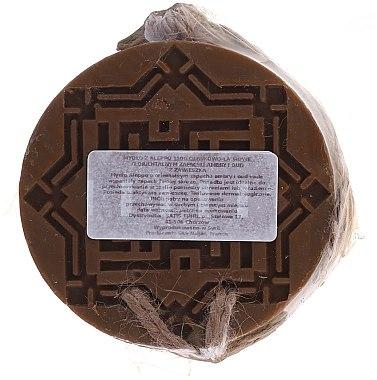 "Aleppo-Seife ""Amber und Oud"" - Najel Aleppo Soap Amber& Oud Scent — Bild N2"