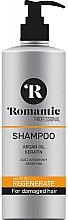 Düfte, Parfümerie und Kosmetik Shampoo für geschädigtes Haar - Romantic Professional Helps to Regenerate Shampoo