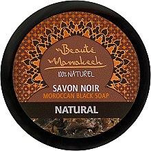 Düfte, Parfümerie und Kosmetik Natürliche marokkanische schwarze Seife - Beaute Marrakech Savon Noir Moroccan Black Soap Natural