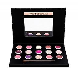 Lidschatten-Palette - Cosmetic 2K Polygon Eyeshadow Palette — Bild N3