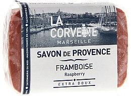 Düfte, Parfümerie und Kosmetik Seife Himbeere - La Corvette Provence Raspberry