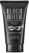 Düfte, Parfümerie und Kosmetik Reinigende Peel-Off Gesichtsmaske für fettige und Mischhaut - Dr.EA Black Mask