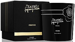 Duftkerze Fiore - Teatro Fragranze Uniche Luxury Collection Fiore Scented Candle — Bild N1