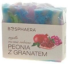 Düfte, Parfümerie und Kosmetik Handgemachte Naturseife Peony & Pomegranate - Bosphaera Peony & Pomegranate Soap