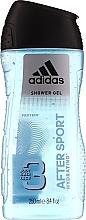 Körperpflegeset - Adidas After Sport (Deospray 150ml + Duschgel 250ml) — Bild N3