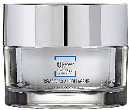 Gesichtscreme mit Kollagen - Fontana Contarini iQ Repair Collagen Face Cream