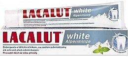Düfte, Parfümerie und Kosmetik Aufhellende Zahnpasta für gesunde Zähne mit Alpenminzgeschmack - Lacalut White Alpenminze Toothpaste