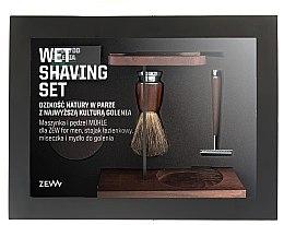 Düfte, Parfümerie und Kosmetik Rasierset - Zew For Men Wet Shaving Set (Rasierseife 85ml + Rasierer 1 St. + Rasierpinsel 1 St. + Rasierschale 1 St. + Ständer für Rasierer, Rasierpinsel und Rasierschale 1 St.)