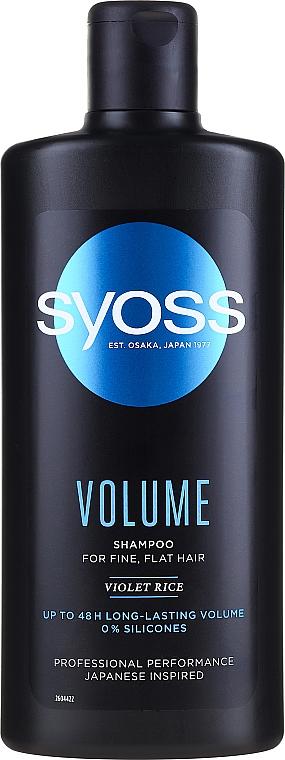Shampoo für mehr Volumen - Syoss Volume Violet Rice Shampoo